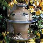 Rowe Pottery Bird Feeder