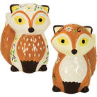 Foxy Floral Salt and Pepper Shakers