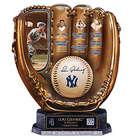 Lou Gehrig Cold Cast Bronze Baseball Glove Sculpture
