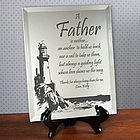 Personalized Father's Day Mirror Keepsake 'Lighting the Way'