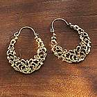 Egyptian Arabesque Earrings