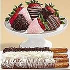 Caramel Pretzels & Half Dozen Mother's Day Strawberries