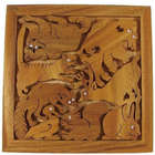 Zoo Animals Wooden Jigsaw Puzzle