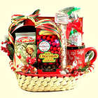 Tidings of Holiday Joy Christmas Gift Basket