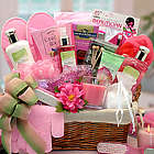 Sweet Blooms Spa Gift Basket