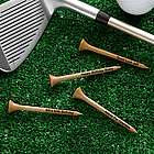 Custom Natural Wood Golf Tees