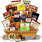 Gourmet Trail Mix and Cookies Gift Basket