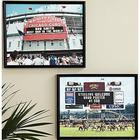 Personalized MLB and NFL Canvas Scoreboard Print