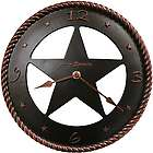 Maverick Western Star Wall Clock