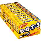 Dots Chewy Candies Theatre Size Boxes