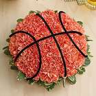 Basketball Fresh Flower Arrangement
