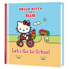 Personalized Let's Go to School: Hello Kitty & Me Book