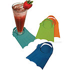 Flippers Swim Fin Coaster Set
