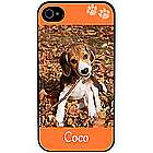 Paw Prints Personalized Pet Photo iPhone Case
