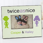 Personalized Twin Picture Frame