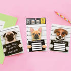 Naughty Dog DIY Scratch Off Greeting Card Set