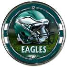 Philadelphia Eagles Chrome Plated Clock