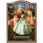 Gone with the Wind Family Personalized Welcome Sign