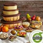 Organic Fruit and Snack 4 Box Gift Tower
