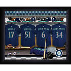 Personalized Seattle Mariners MLB Locker Room Framed Print