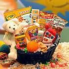 Kid's Tasty Snacks and Activity Gift Basket