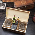 Fueled by Fire Custom Whiskey Gift Set with Engraved Box