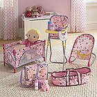 Girl's Baby Doll Accessory Set