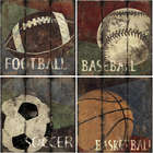 My Sports Canvas Prints for Boy's Room