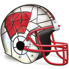 Wisconsin Badgers Football Helmet Lamp