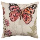 Butterfly Blush Outdoor Pillow
