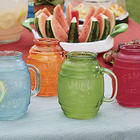 Secret Family Recipe Glass Barrel Mugs