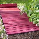 Cedar Outdoor Straight Pathway in Barn Red
