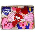 Valentine's Day Decorated Sugar Cookies Gift Tin