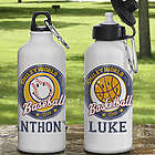 Personalized Smiley Sport Water Bottle