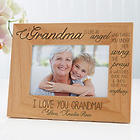 Special Grandma Personalized Photo Frame