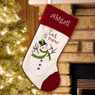 Personalized Let It Snow Stocking