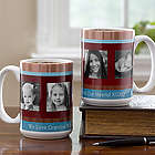 Photo Message Large Personalized Coffee Mug