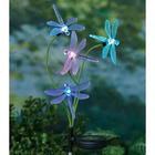 Color-Changing Dragonflies Garden Stake