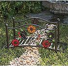 Floral Mini Garden Bridge