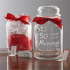 Personalized Wonderful Things about Her Keepsake Jar