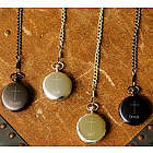 Personalized Inspirational Pocket Watch with Engraved Cross