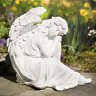 Glistening Serenity Angel Statue