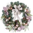 "26"" Plumfield Victorian Christmas Wreath"