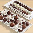 Four Caramel Pretzels and 20 Hand-Dipped Cherries