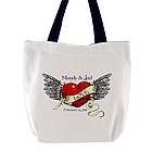 Tattoo Love Tote Bag