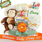 Rainforest Fun Baby Gift Basket