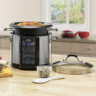 6-Quart Pasta/Rice Cooker and Food Steamer
