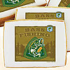 Bass Fishing Decorated Cookies Gift Box