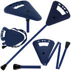 Flipstick Straight Folding Seat Cane Blue with Blue Bag