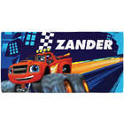 Blaze and the Monster Machines Kid's Personalized Beach Towel
